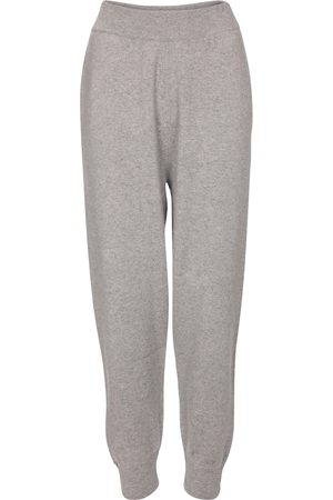 EXTREME CASHMERE N° 56 Yogi cashmere-blend pants