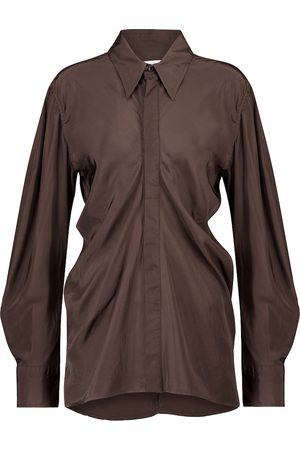 Bottega Veneta Women Long sleeves - Ruched shirt