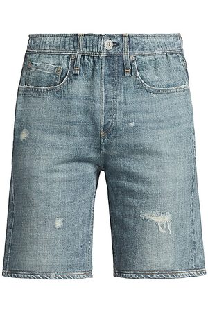 RAG&BONE Women Sports Shorts - Women's Miramar Cotton Shorts - Glasshill - Size Small