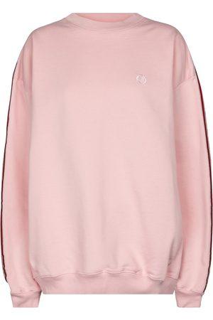 Vetements Women Sweatshirts - Cotton-blend jersey sweatshirt