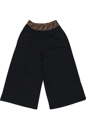 Fendi FF cotton shorts