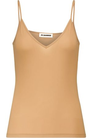 Jil Sander Women Tank Tops - Sleeveless jersey top