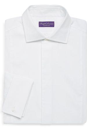 Ralph Lauren Men's Classic-Fit Solid Long-Sleeve Shirt - - Size 17