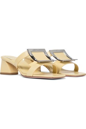 Roger Vivier Bikiviv' 45 leather sandals