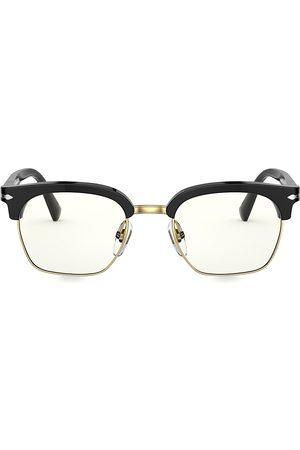 Persol Men's 53MM Round Optical Glasses