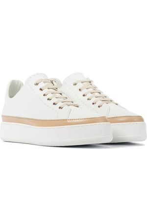 Max Mara Turner leather sneakers
