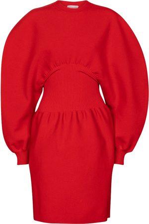 Bottega Veneta Women Midi Dresses - Wool-blend midi dress