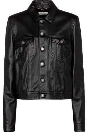 Saint Laurent Women Leather Jackets - Leather jacket