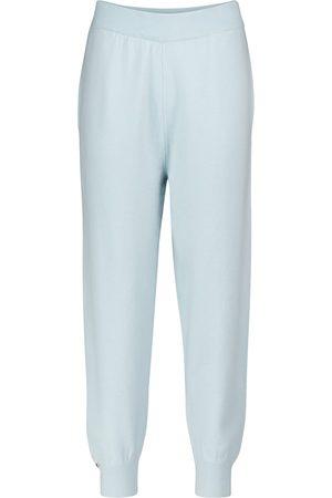 EXTREME CASHMERE N° 56 Yogi cashmere-blend trackpants