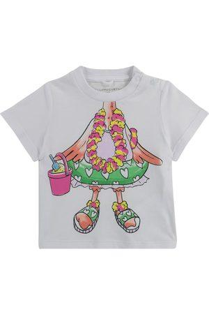 Stella McCartney T-shirts - Baby cotton T-shirt