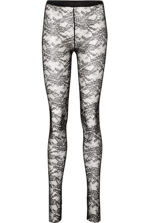 RED Valentino Women Stockings - Floral lace tights