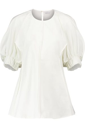 Deveaux New York Women Blouses - Carrie cotton poplin blouse