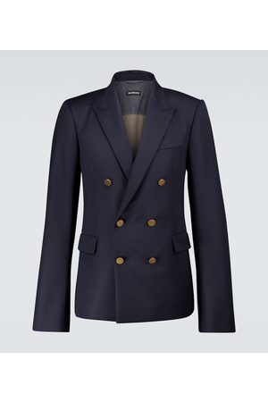 Balenciaga Double-breasted virgin wool blazer