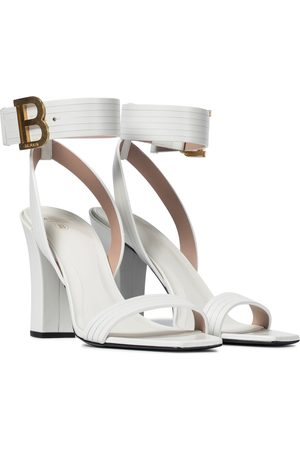 Balmain Stella leather sandals