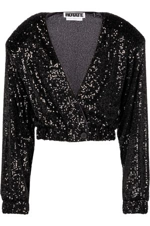 ROTATE Judy sequined jacket
