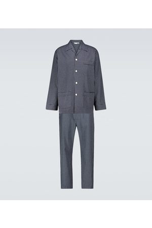 DEREK ROSE Men Pajamas - Braemar pajama set