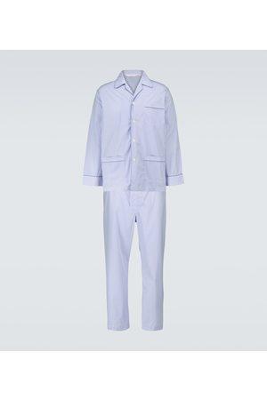 DEREK ROSE James striped pajama set