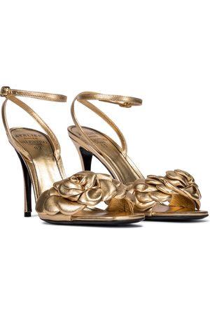 VALENTINO GARAVANI Women Sandals - Atelier 90 leather sandals