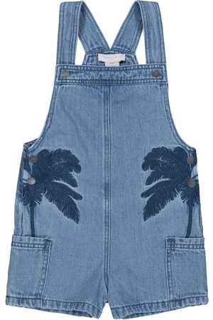 Stella McCartney Girls Dungarees - Stretch-denim dungarees