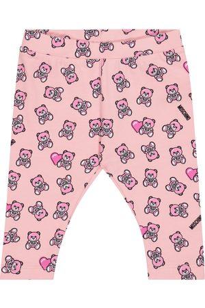 Moschino Baby stretch-cotton leggings