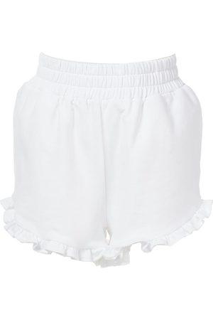 AMUR Women Shorts - Women's Adalynn Ruffle Terry Shorts - - Size Medium