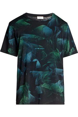 Saint Laurent Men's Graphic Print T-Shirt - - Size XS