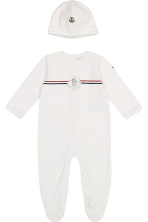 Moncler Baby cotton onesie and beanie