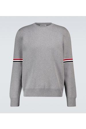 Thom Browne Milano stitch 4-Bar cotton sweater