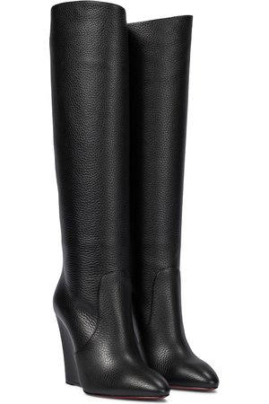 Christian Louboutin Women Thigh High Boots - Civiliza 100 knee-high leather boots