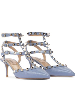 VALENTINO GARAVANI Women Pumps - Rockstud leather pumps