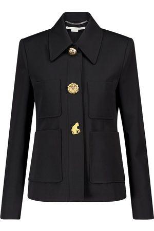 Stella McCartney Elisabeth embellished wool jacket