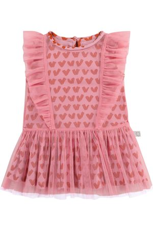 Stella McCartney Baby printed tulle dress