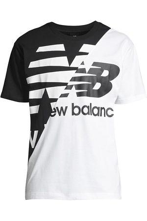 New Balance Men T-shirts - Men's Splice Logo T-Shirt - - Size Medium
