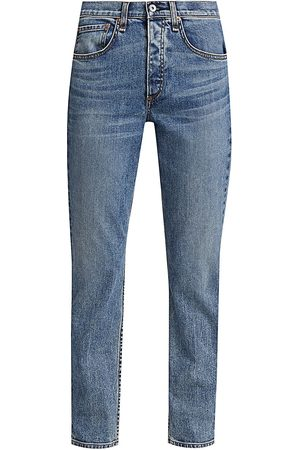 RAG&BONE Women's Rosa Mid-Rise Boyfriend Jeans - Farrow - Size 25 (2)