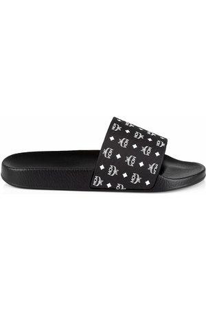 MCM Men's Logo Pool Slides - - Size 43 (10) Sandals