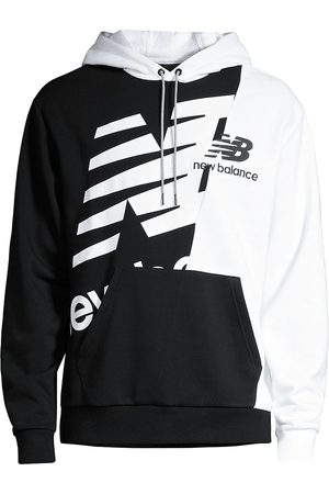 New Balance Men's Splice Logo Hoodie - - Size XL