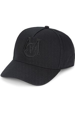 Moncler Men's Tinal Logo Embroidered Baseball Hat