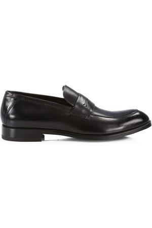 Ermenegildo Zegna Men's Siena Flex Leather Penny Loafers - - Size 12