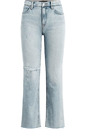 Hudson Women High Waisted - Women's Remi High-Rise Straight Cropped Jeans - Two Hearts - Size 30 (8)