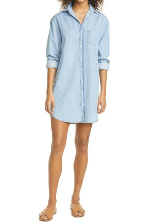 FRANK & EILEEN Women Casual Dresses - Women's Mary Long Sleeve Chambray Shirtdress