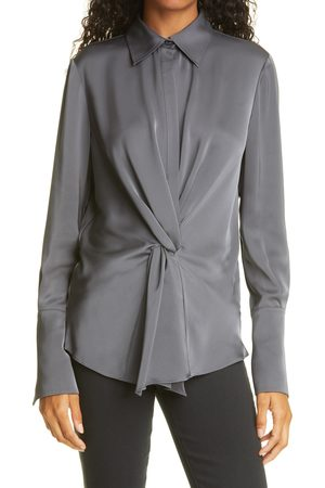 Ramy Brook Women's Maxwell Twist Front Button-Up Top