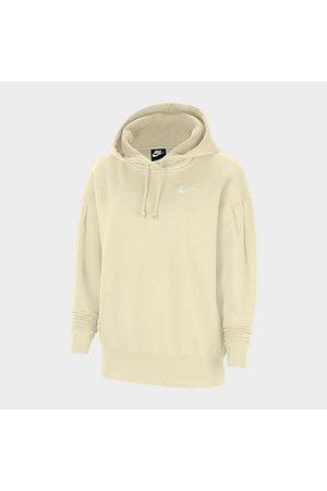 Nike Women's Sportswear Fleece Pullover Hoodie (Plus Size) in Off- Size Extra Large Cotton/Polyester/Fleece