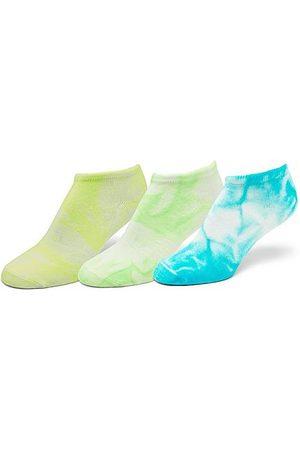 Sof Sole Women's Tie-Dye 3-Pack No-Show Socks in /
