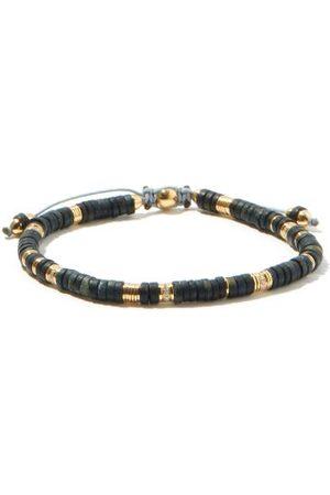 M. COHEN The Zen Tiger's Eye & 18kt Bracelet - Mens