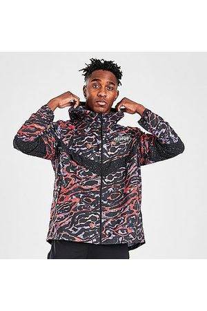 Nike Men's Windrunner Ani-Camo Wild Run Running Jacket