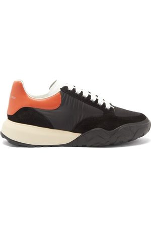 Alexander McQueen Court Raised-sole Panelled Trainers - Mens - Multi