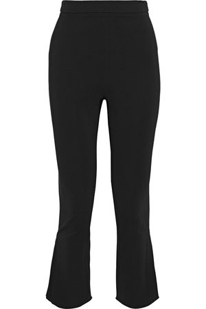 Cushnie Woman Cropped Crepe Flared Pants Size 0