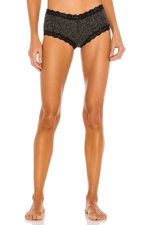 Hanky Panky Boyshort in Black.
