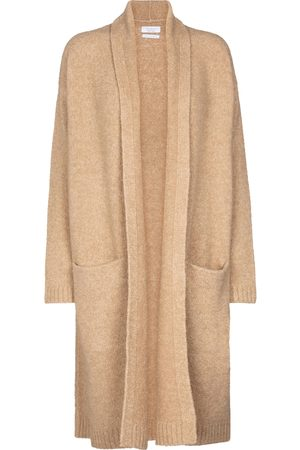 Deveaux New York Cassie wool and cashmere-blend cardigan