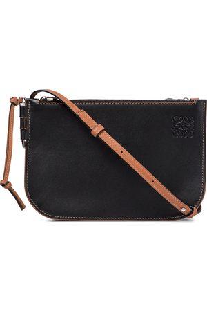 Loewe Women Clutches - Gate leather clutch